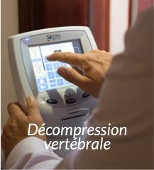 Décompression vertébrale